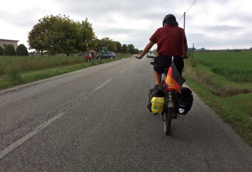 Heutiges Motto: möglichst schnell von Ferrara nach Ravenna kommen !