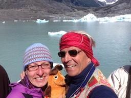 Die drei Gletscher-Reisenden