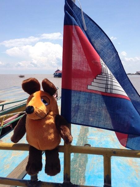 Das orangene Khmer Mäuslein :-)