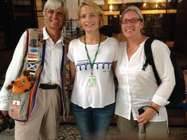 Lisa, die uns so kompetent und nett durch Rio de Janeiro geführt hat.