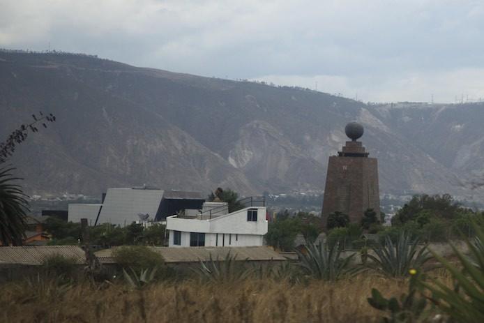 Mundo nördlich von Quito - wir überqueren den Äquator