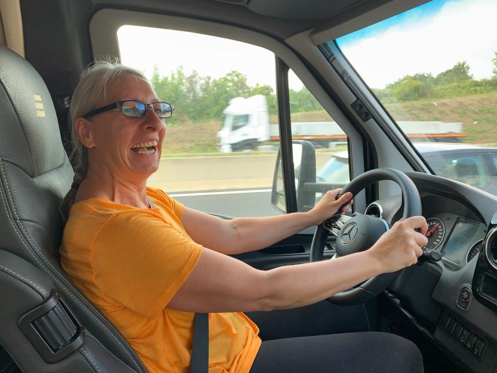 WoMo-Fahren macht Spaß!!