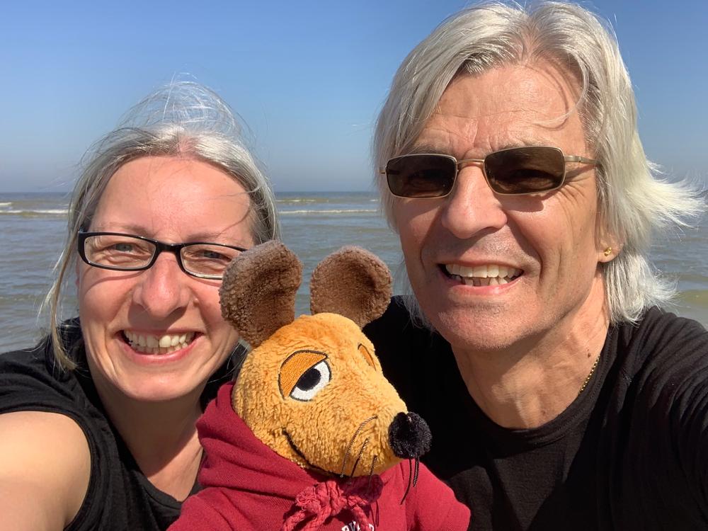 Sonne, Meer und Wind – und wir sind glücklich