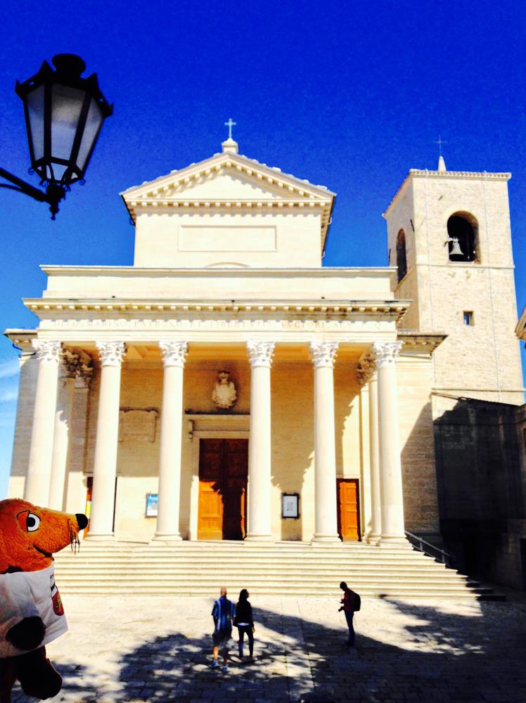 Die Basilika von San Marino