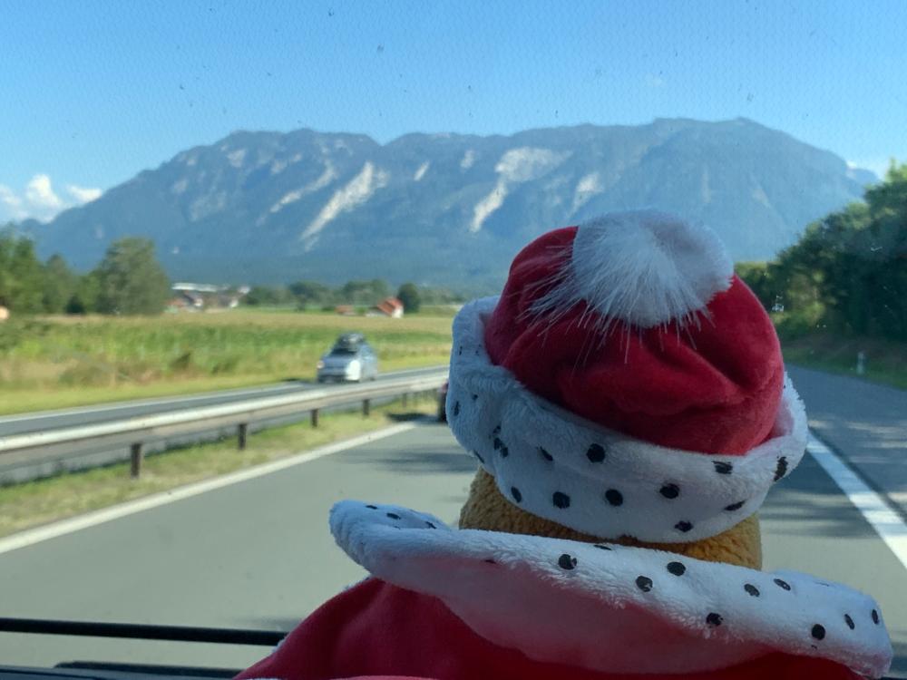 Wir nähern uns Österreich