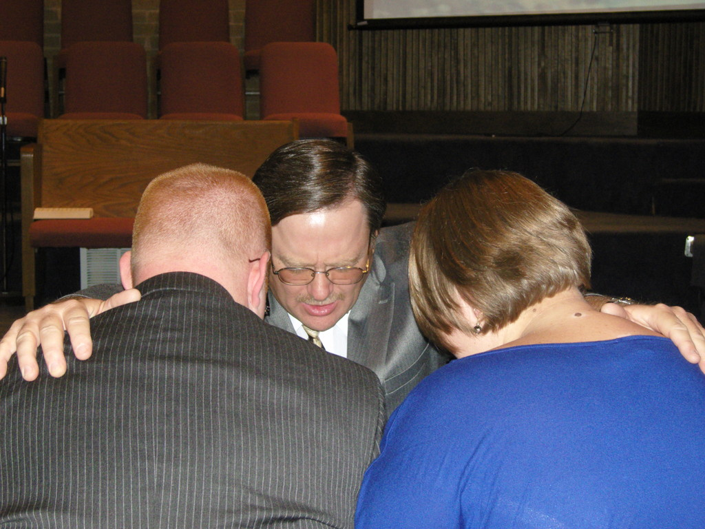 Prayer with Dr. Hall
