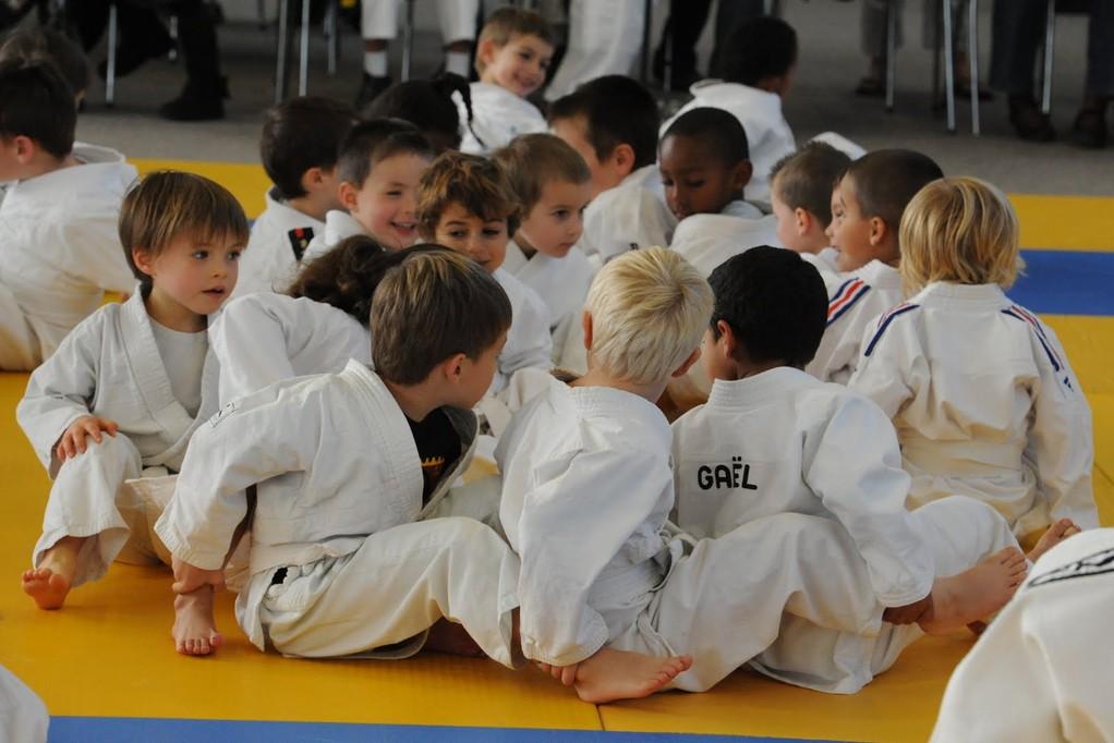 le ''train'' de l'éveil au judo