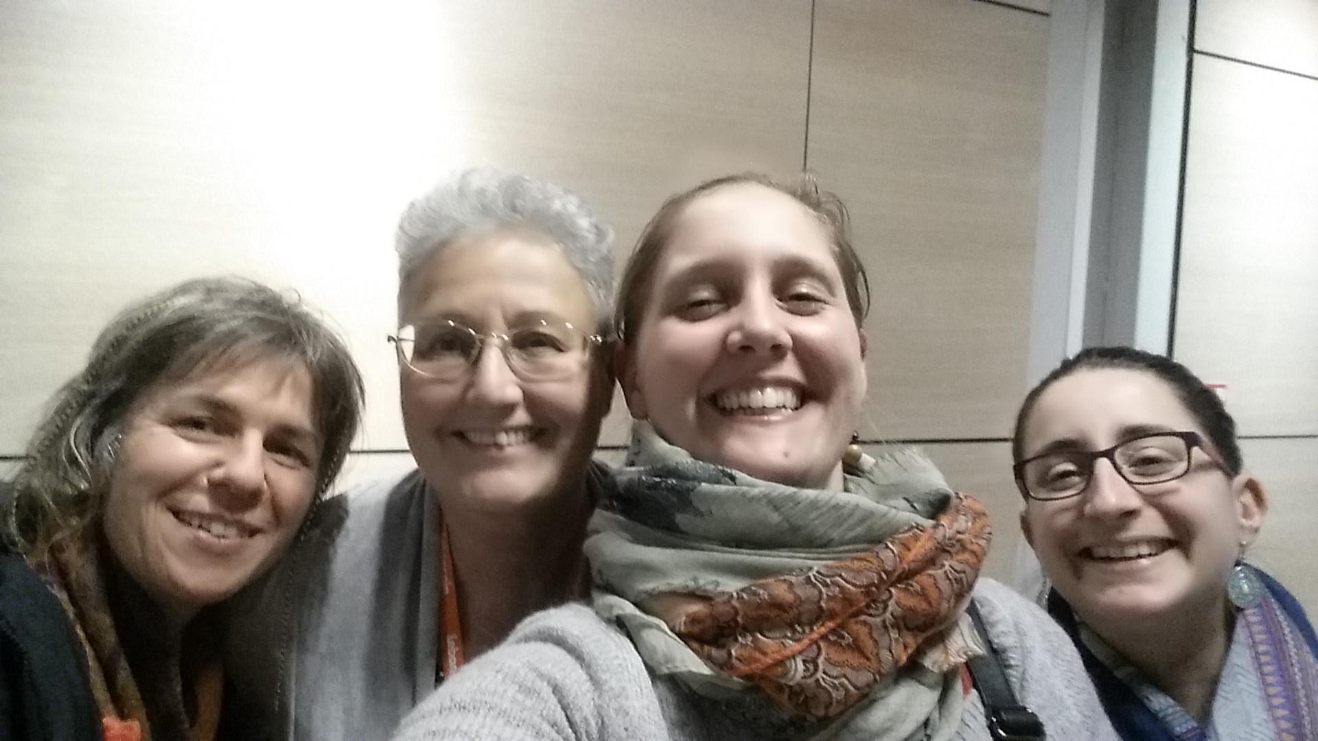 #SDE2017 Delphine Delmas, Muriel Faibes, Emmanuelle Orvain, Anne Delmer-Berhil