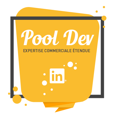logo association Pool Dev - expertise commerciale étendue