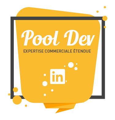 logo association Pool Dev - expertise commerciale étendue