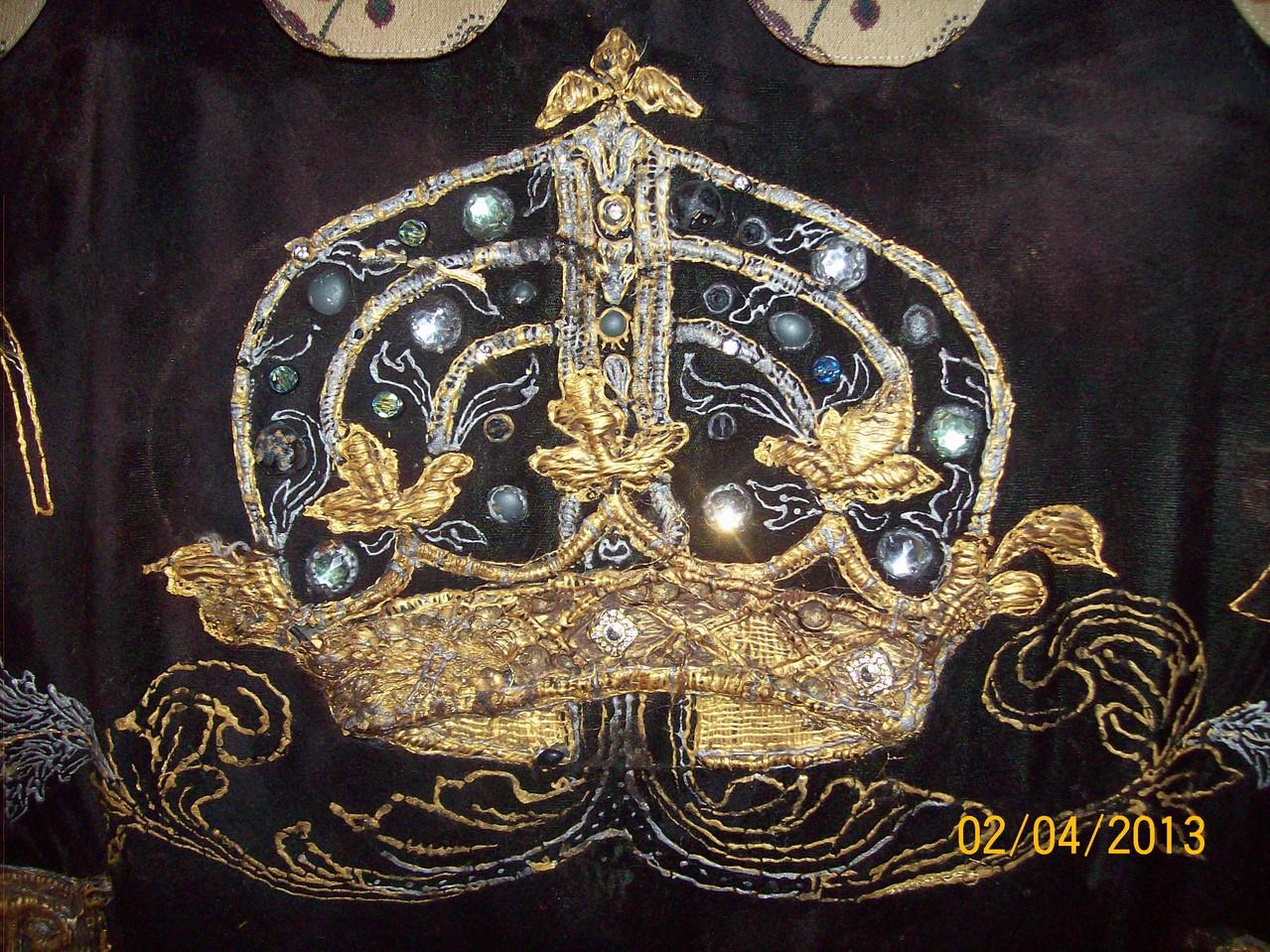 Старовинне шиття золотом.