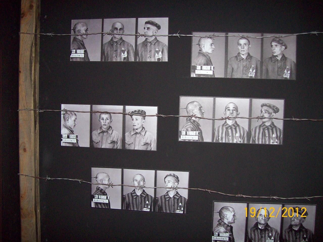 Фото в'язнів фашистських таборів смерті