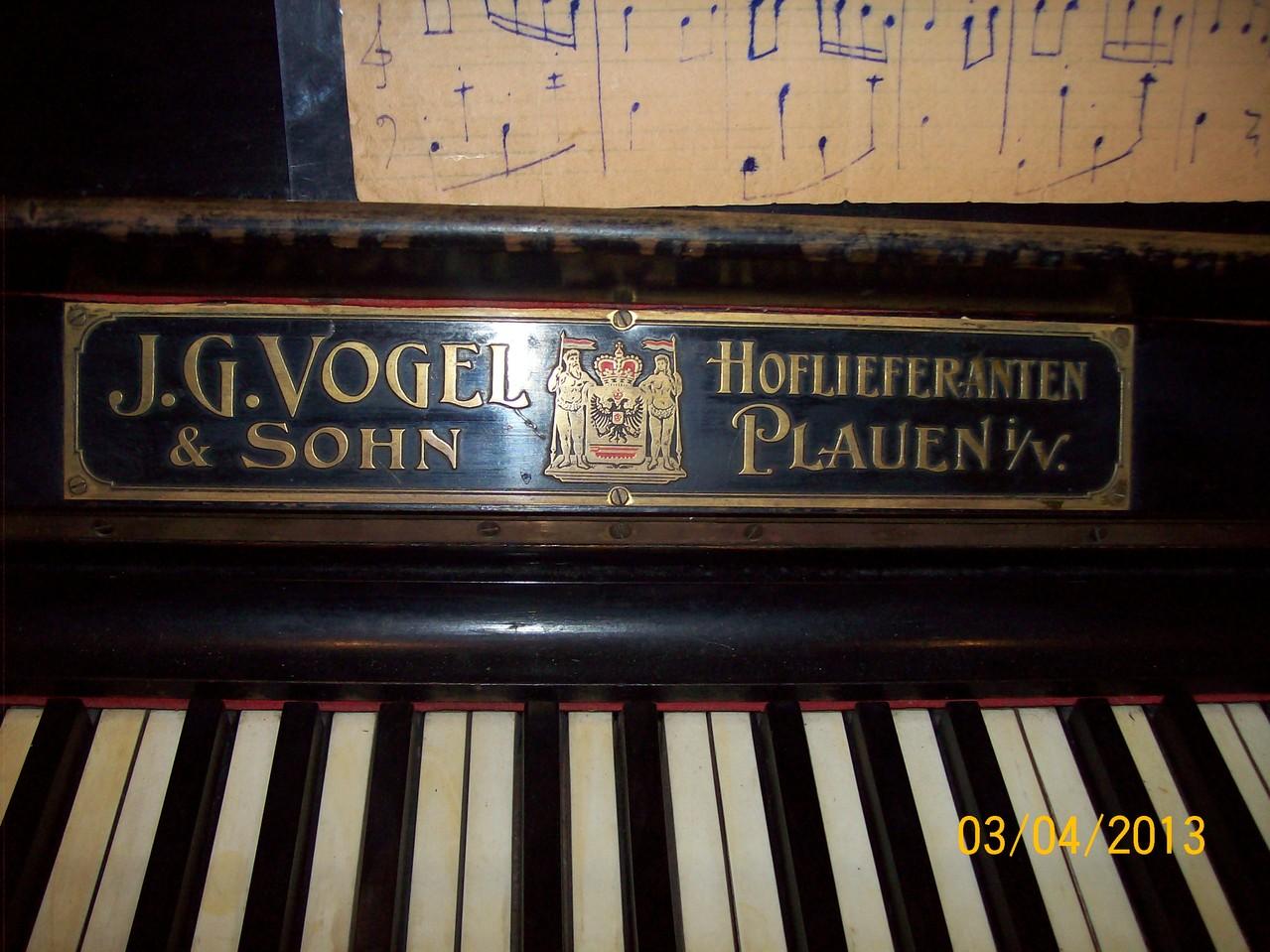 Піаніно - експонат музею із Німеччини.