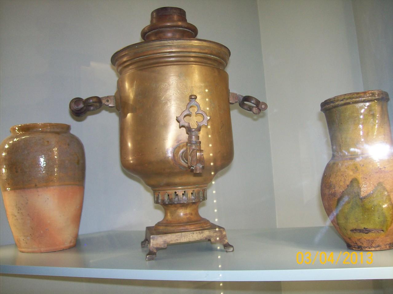 Побутові речі домашнього вжитку, знайдені на території Катеринославщини
