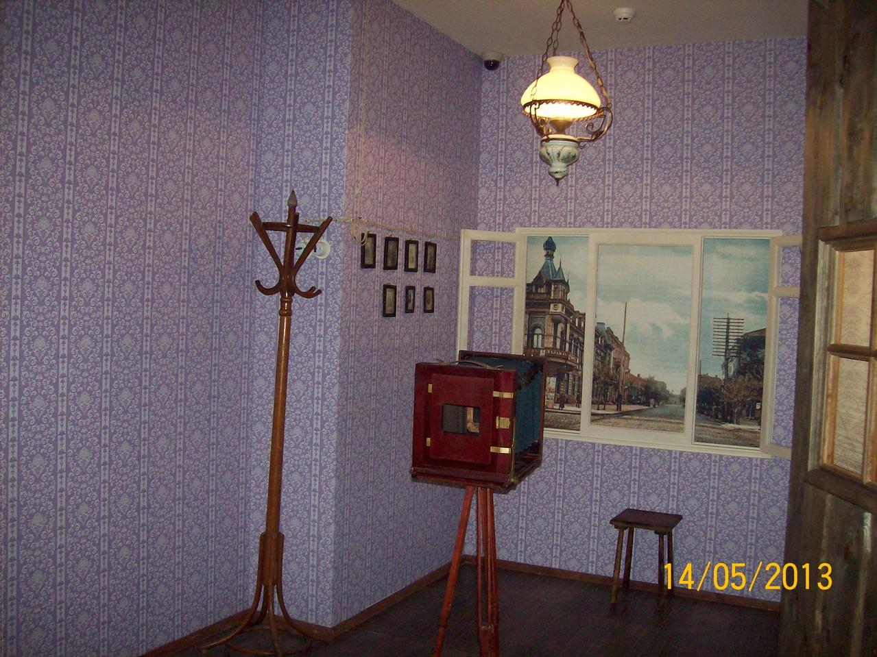 Кімната фотографа початку ХХ століття у Катеринославі