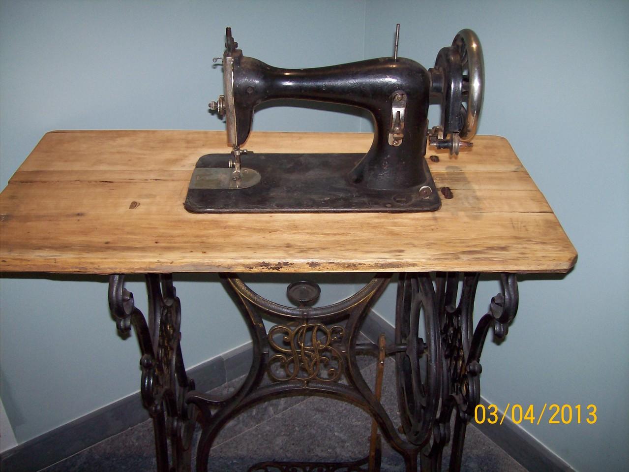 """Швейна машинка """"Зінгер"""" (поч. ХХ століття)."""