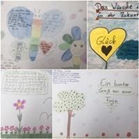 Ein freiwilliges Lockdown-Projekt der Klassenstufen 5 bis 9: Bilder gestalten für unsere Seniorinnen und Senioren