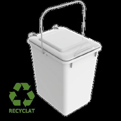 """Der SULO® Bioboy """"Edition Tütle"""" wird aus recyceltem Kunststoff hergestellt. Das Tütle der Größe L passt genau hinein. So sammeln Sie sauber und hygienisch Ihren Biomüll."""