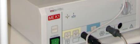 Elektrokaustik als Hilfsmittel für ästhetische Medizin in Münster