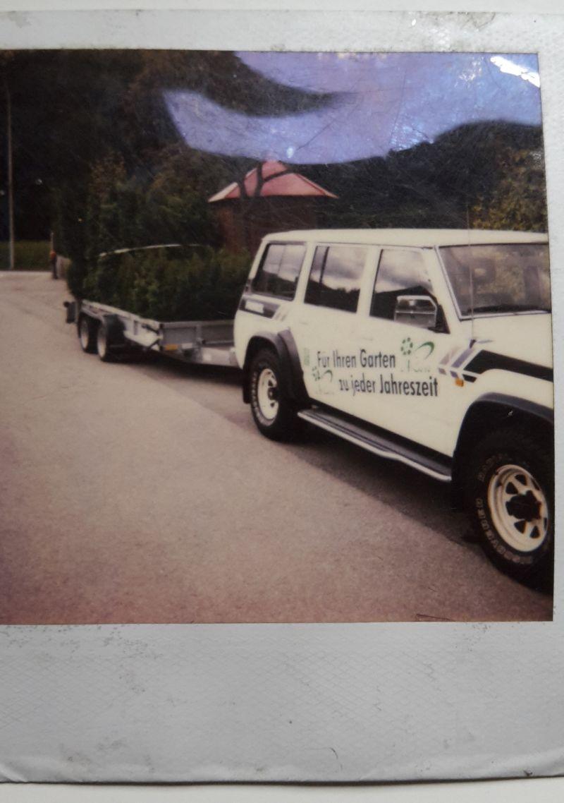 Firmenfahrzeug, vermutlich in den 90-er Jahren
