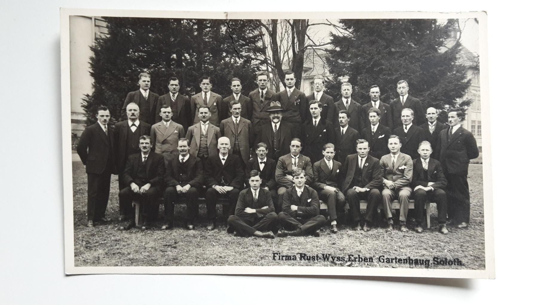 Mitarbeiter im März 1932