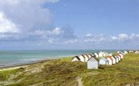 Les cabines de plage font partie du patrimoine gouvillais