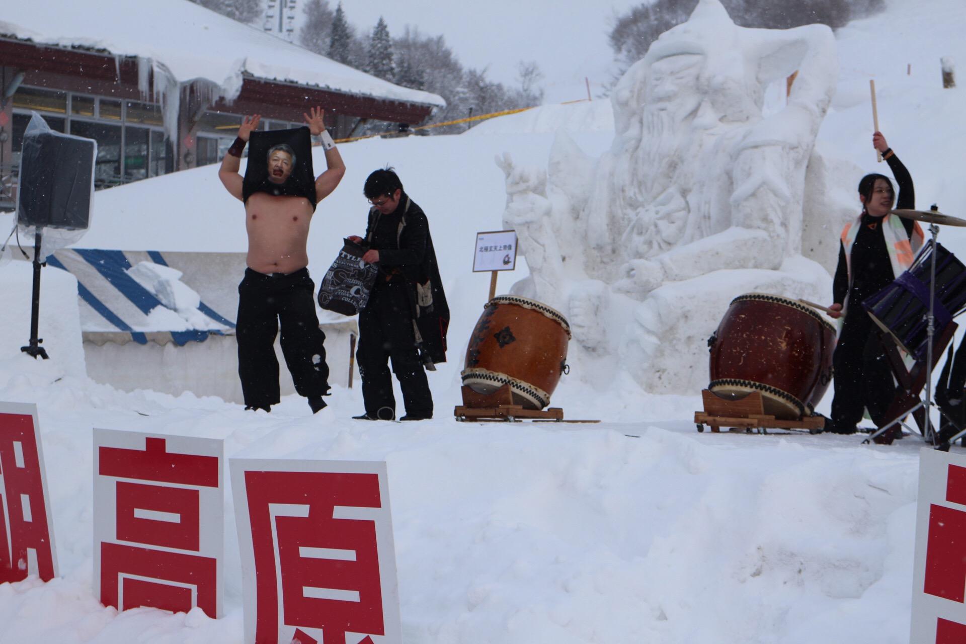 田沢湖龍神太鼓の「ご当地キャラ」です