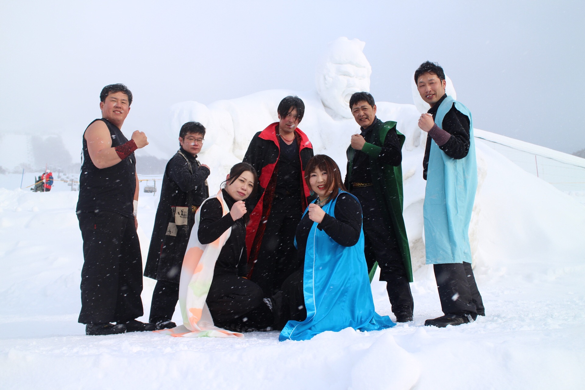 最後はメンバーの集合写真
