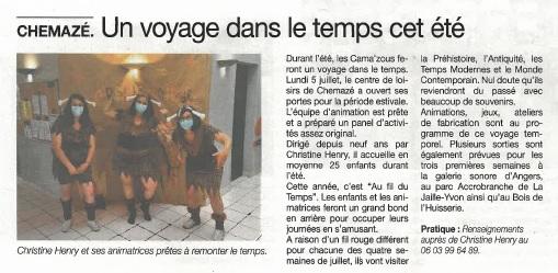 Haut Anjou du 09 juillet 2021