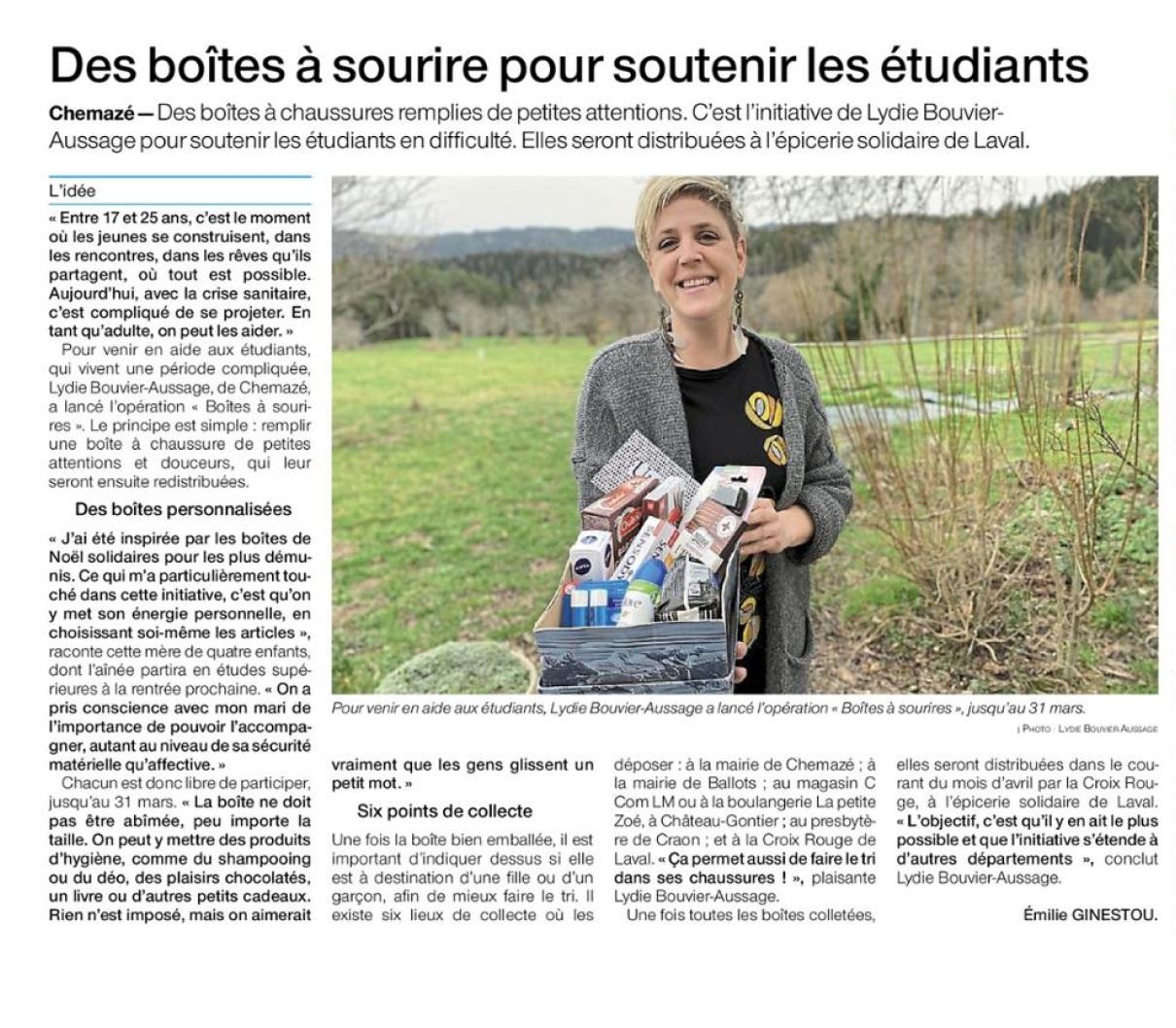 Ouest France du 05-03-2021