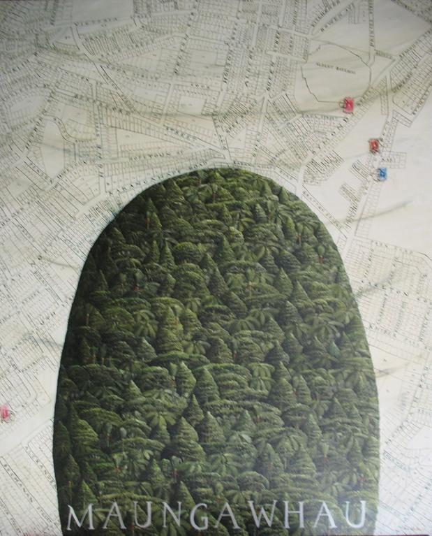 '' Maungawhau, The summit' 102 x840mm