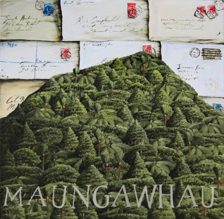 'Maungawhau' 400 x400mm