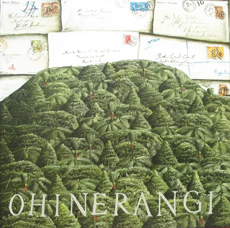'Ohinerangi' 400 x400mm