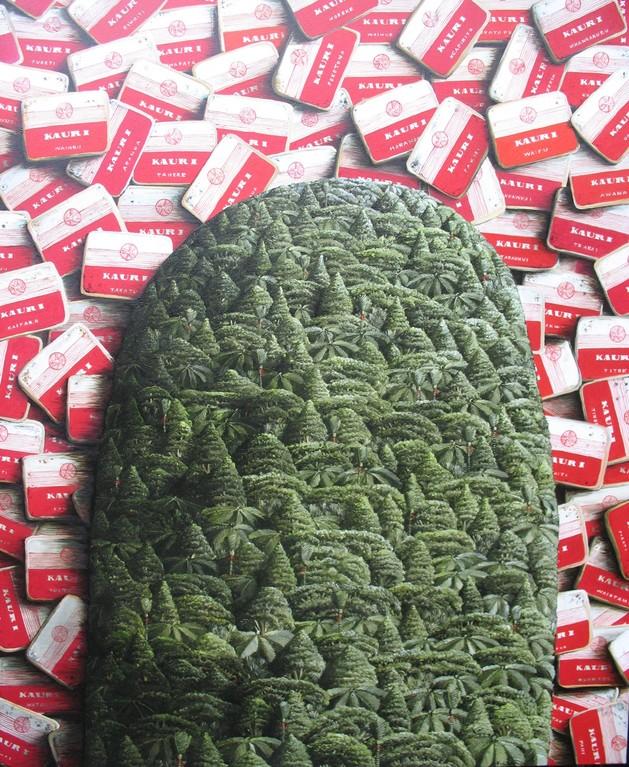 'Mount Kauri' 840 x1020mm