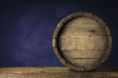 Hintergrundbild Weinfass