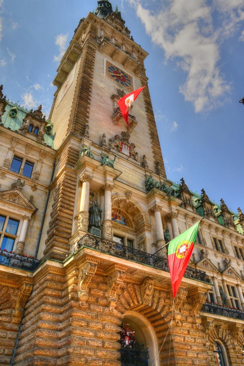 Recepção Oficial na Rathaus (Foto: Glyn Lowe)