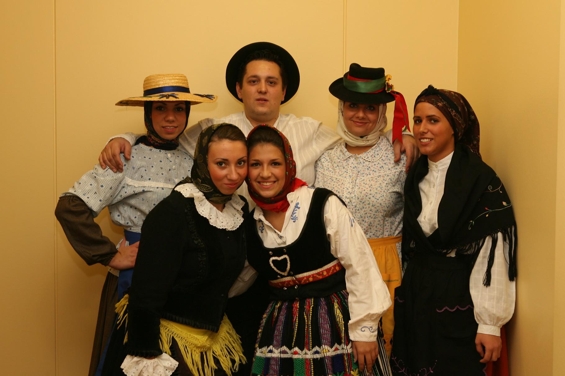Jovens Portugueses preservam as tradições, 2007