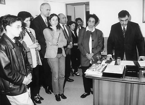 Portugueses no Consulado em Hamburgo, 1999