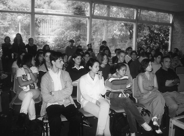 Alunos Portugueses no liceu Max Planck, 1999