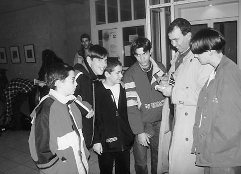 Encontro de jovens em Estugarda, 1998