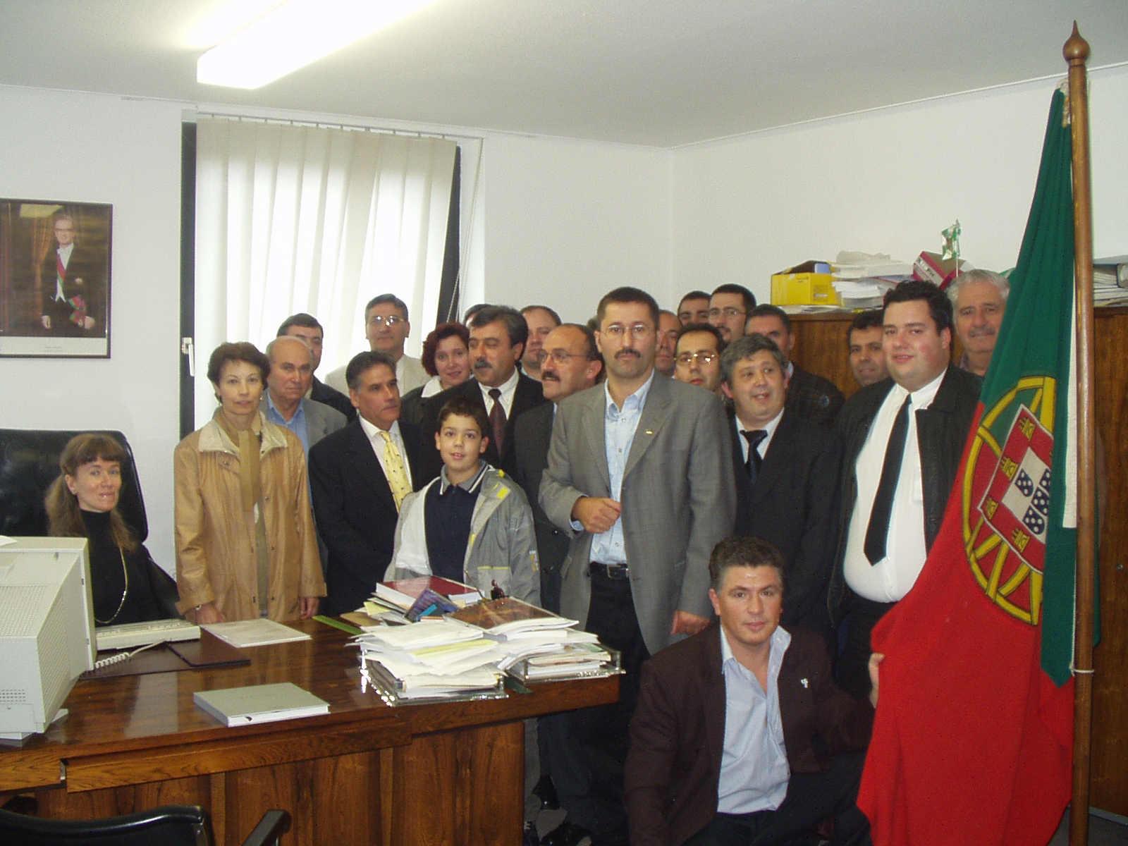 Portugueses no Consulado em Osnabrueck, 2002