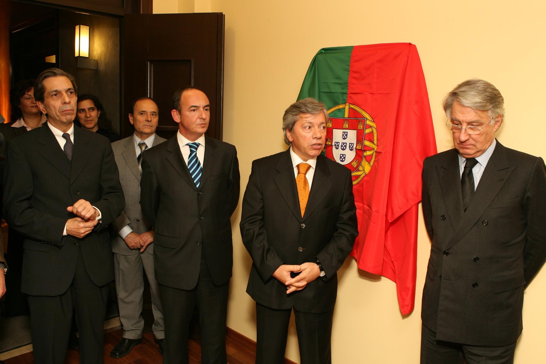 Inauguração das novas instalações do Consulado de Hamburgo com o secretário de