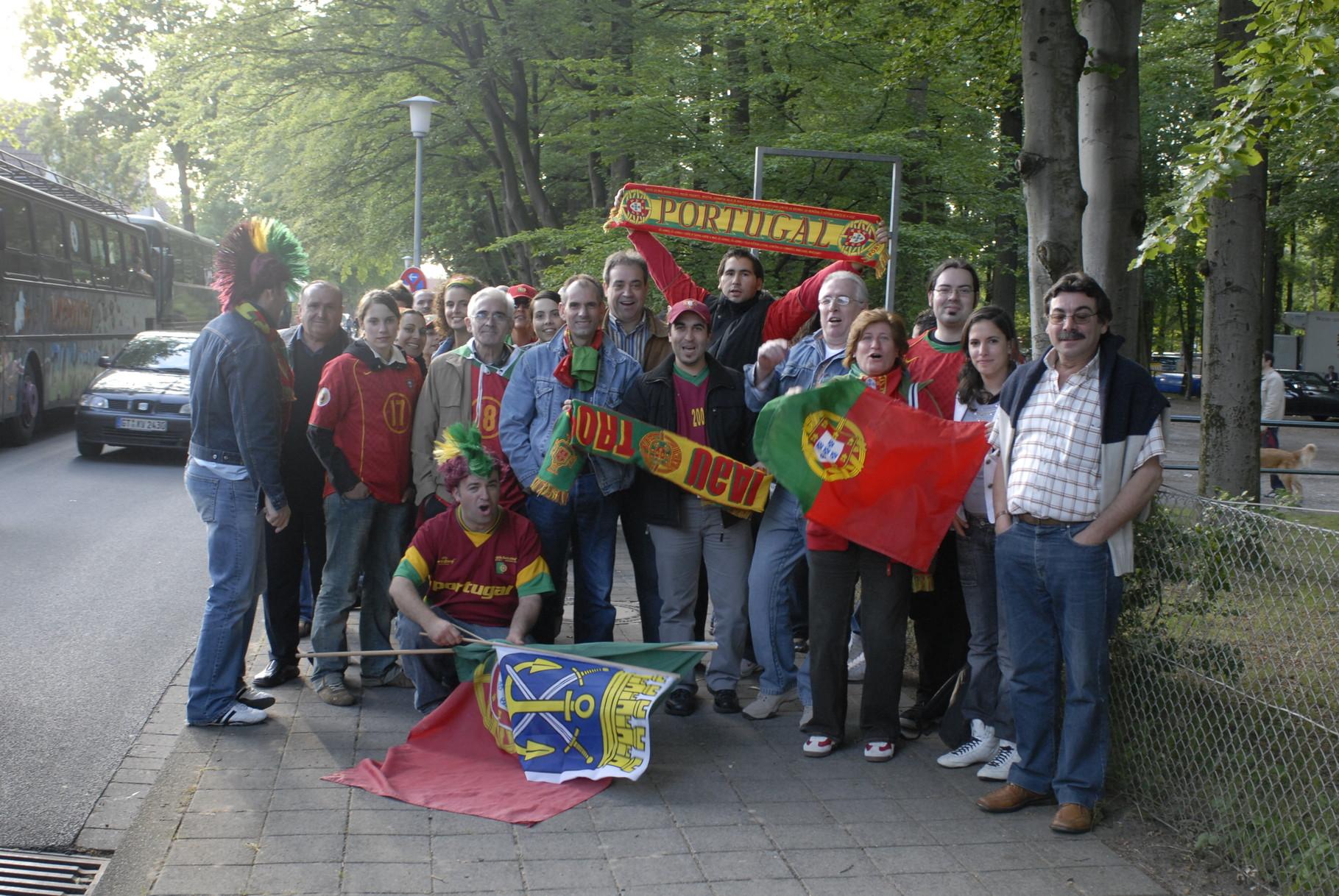 Portugueses apoiam selecção nacional de futebol na Alemanha, 2006