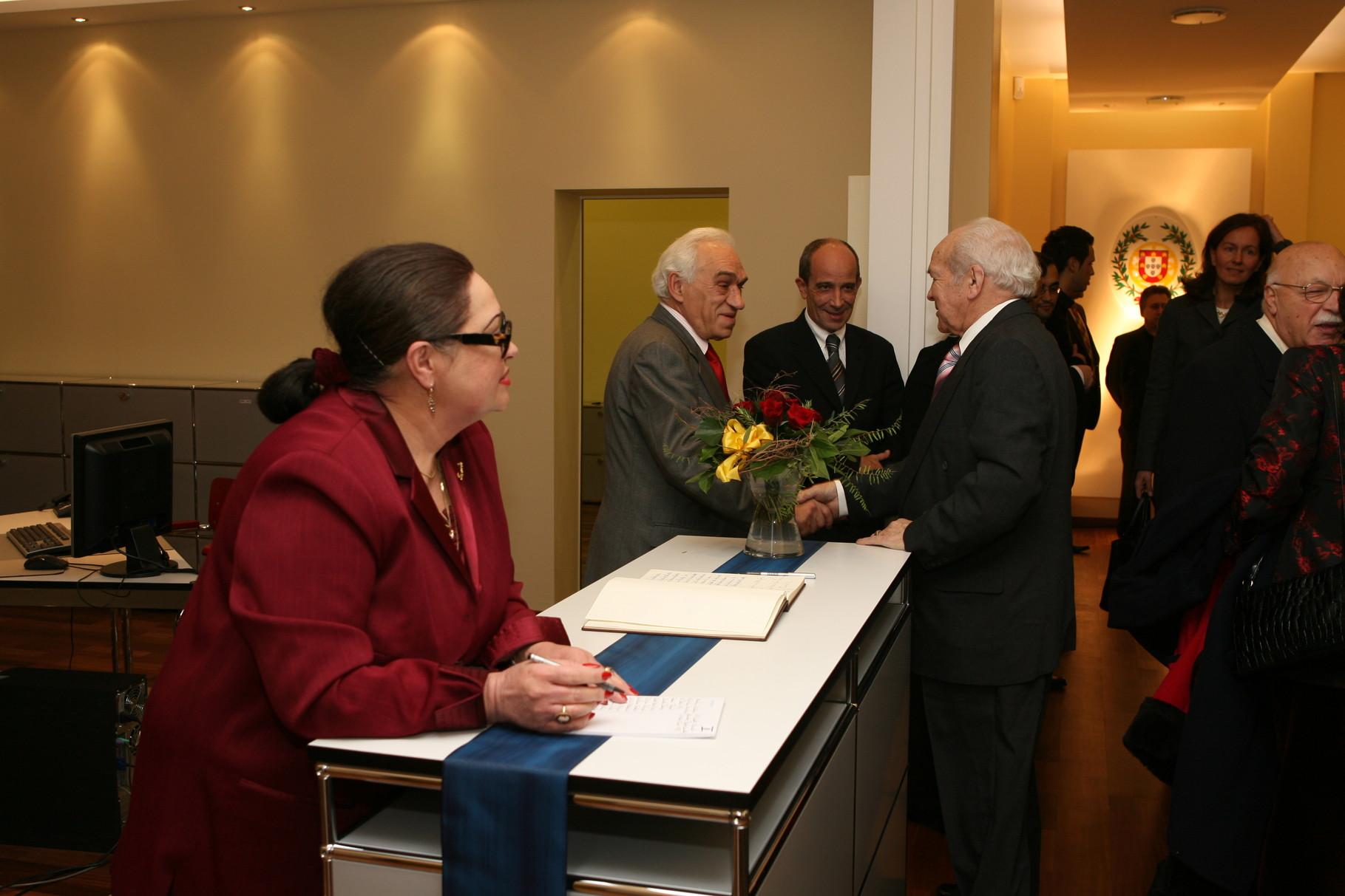 Inauguração das novas instalações do Consulado de Hamburgo, 2007