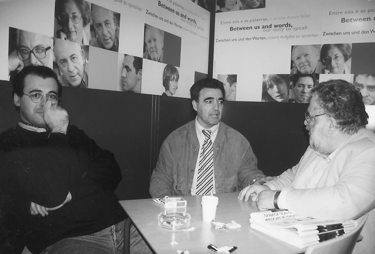 Manuel Campos e Carlos Mendes (Ex-Presidente da Federação Socialista) , 1998