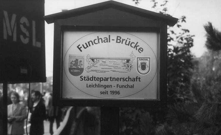 Geminação  Funchal/Leichlingen, 1996