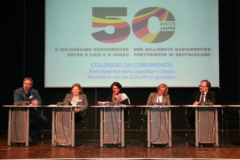 Colóquio no  Forum VHS im Rautenstrauch-Joest-Museum; Retrospectiva para organizar o futuro, Foto: Paulo dos Santos