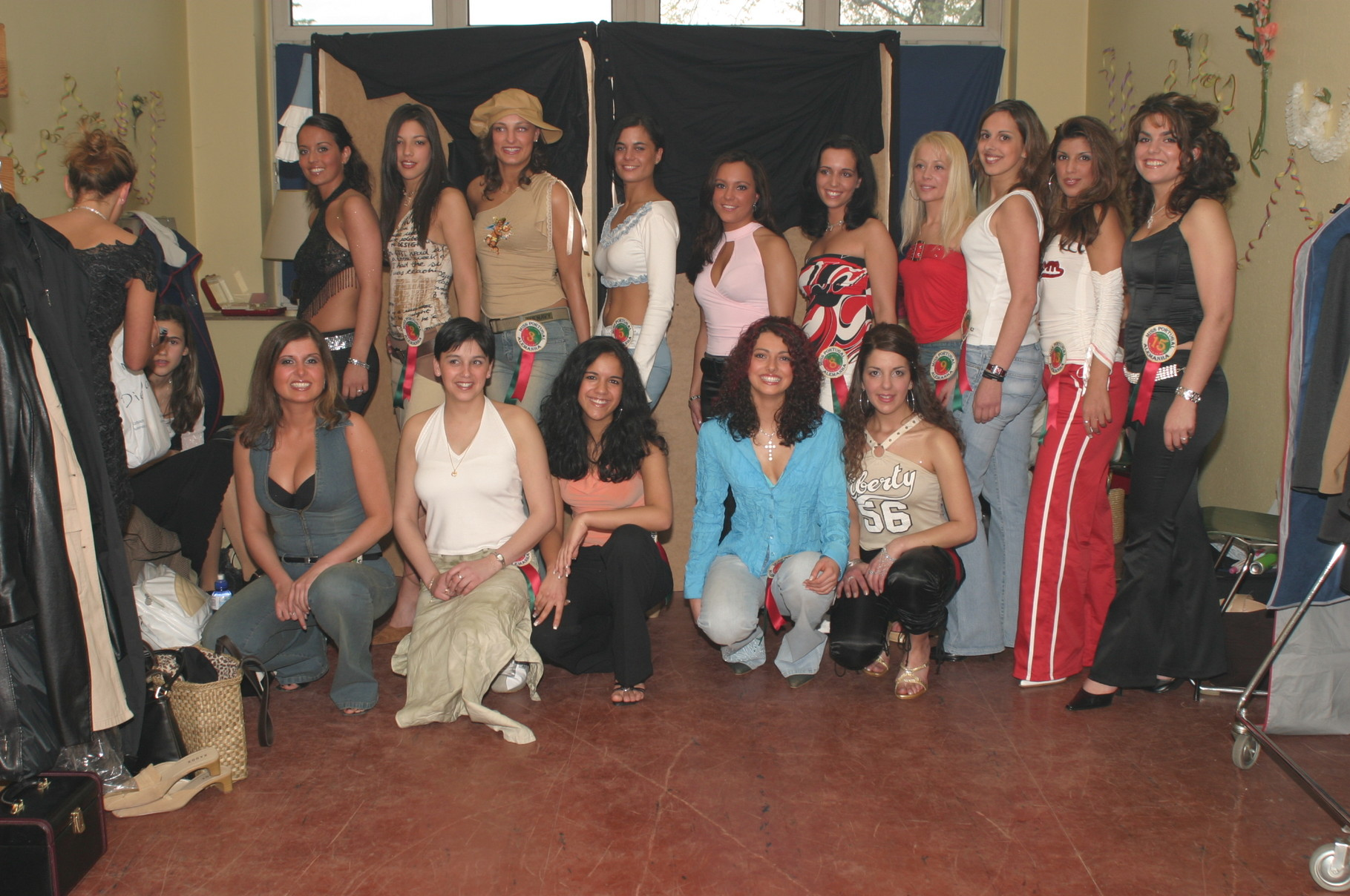 Candidatas à miss Portugal, 2003