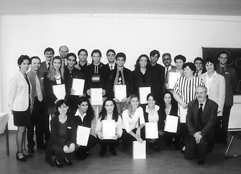 Formandos em Frankfurt, 1999