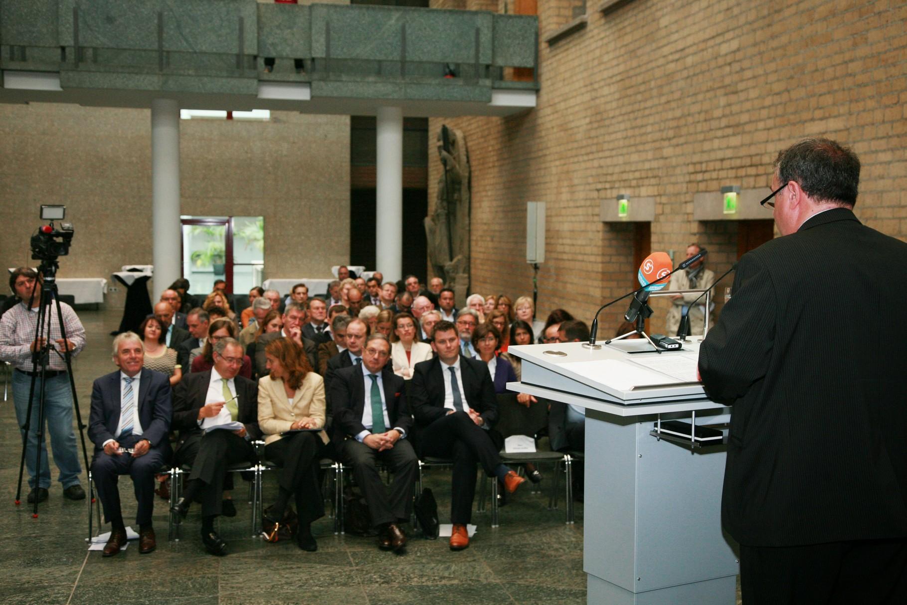 Cerimónia na Câmara Municipal de Colónia, Foto: Paulo dos Santos